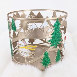 Bath and Body Works Christmas Candle Holder